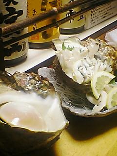 夜光貝の刺身